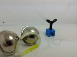 Waller Glocken-Rutenklemmhalterung einzeln zum nachrüsten